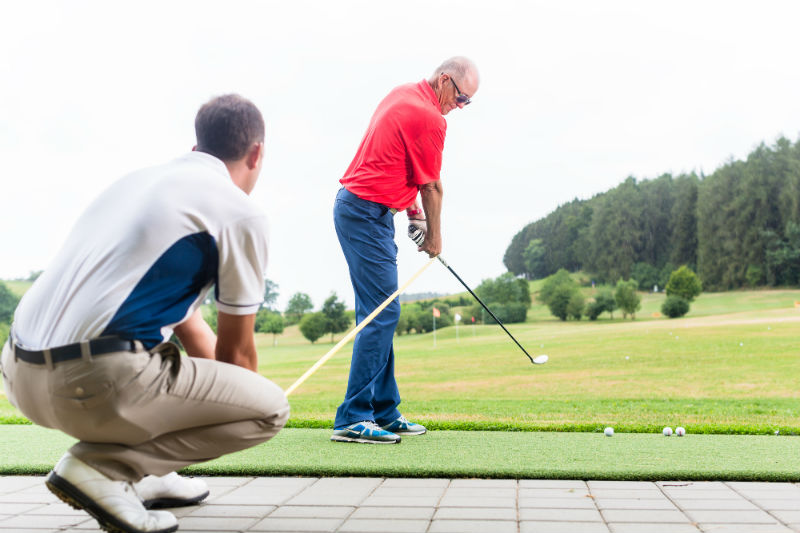 Finding a good golf instructor