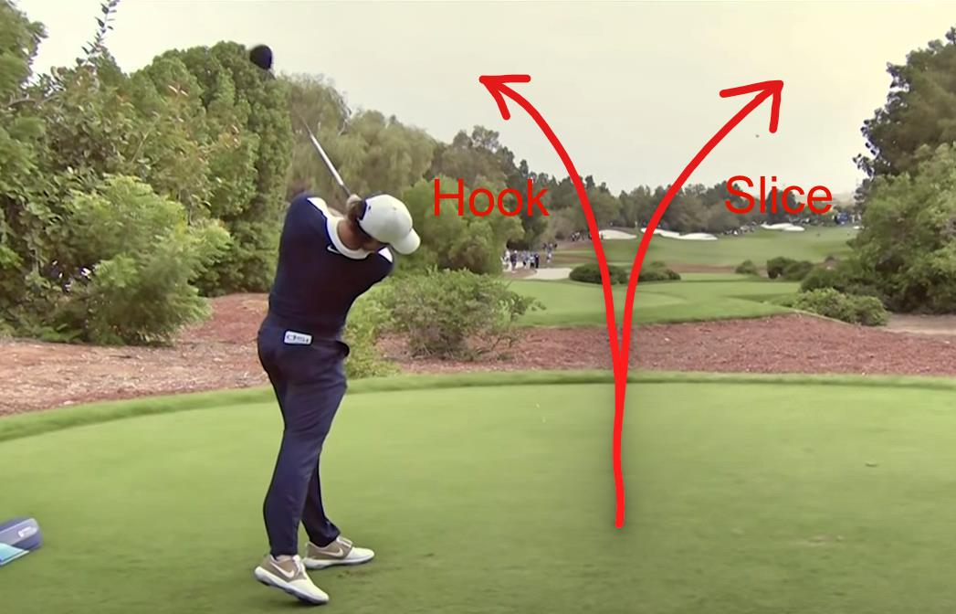 Golf Slice vs Hook