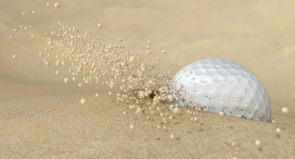 Lob Wedge vs Sand Wedge - Plugged Golf Ball